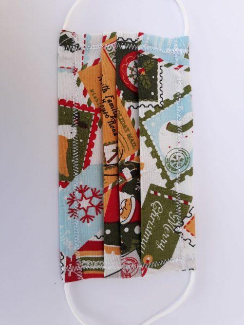 """Rúško na ústa """"Vianočná pošta"""""""