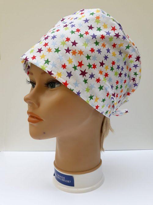 """Operačná čiapka """"Farebné hviezdy"""""""