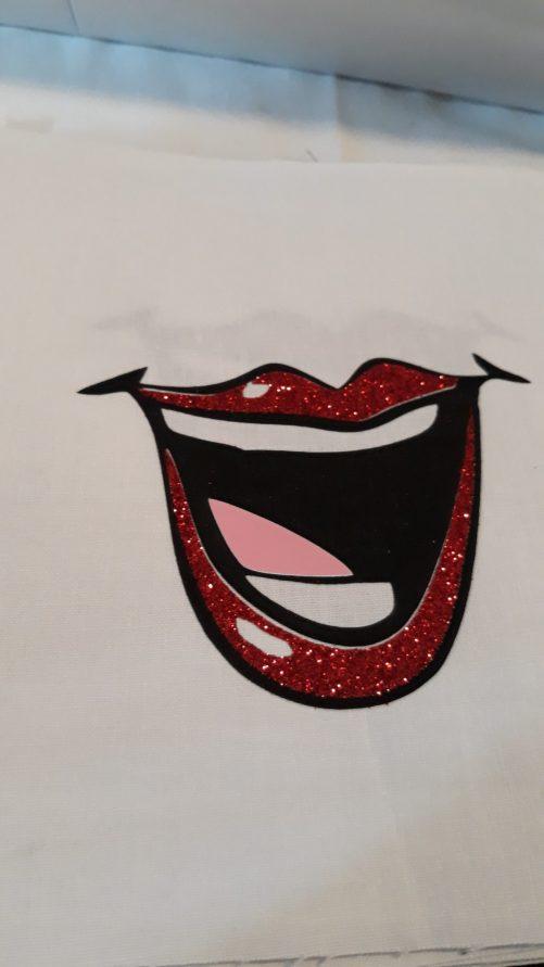 """Rúško na ústa """"S ligotavými perami"""""""