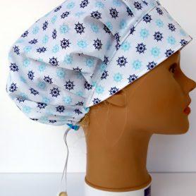 """Operačná čiapka pre dlhé vlasy """"Kormidlá"""""""