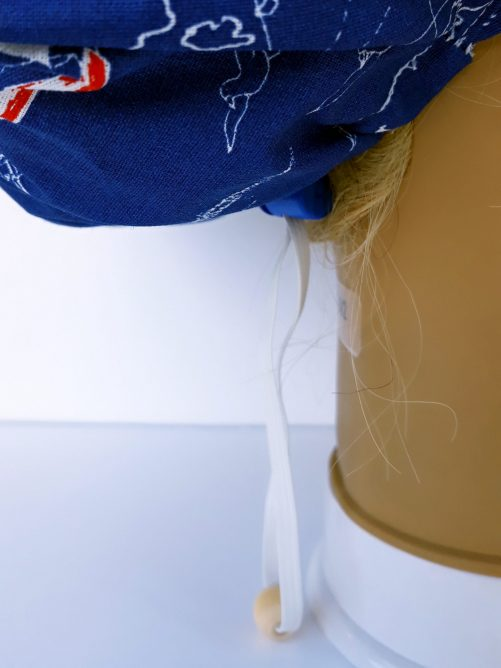 """Operačná čiapka pre dlhé vlasy """"Lodičky"""""""
