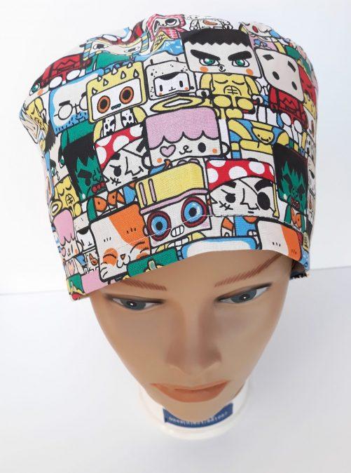 """Operačná čiapka """"Komiks"""""""