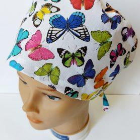 """Operačná čiapka """"Prekrásne motýle"""""""