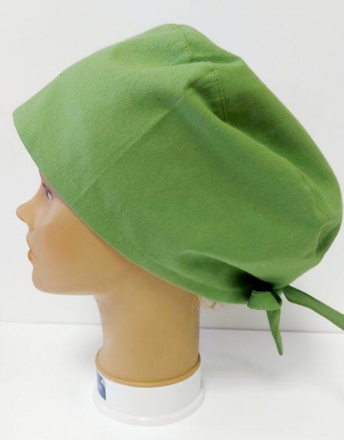 """Operačná čiapka """"Zelená jednofarebná"""""""