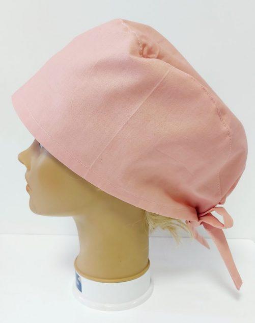 """Operačná čiapka """"Ružová jednofarebná"""""""