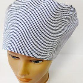 """Operačná čiapka """"Modré káro"""""""