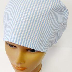 """Operačná čiapka """"Modrý pásik"""""""