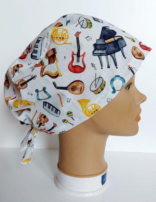 """Operačná čiapka """"Muzika"""""""
